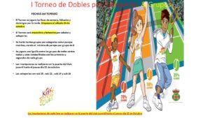 I Torneo de Dobles por Categorías & Grupos
